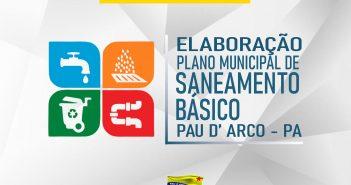 Início da elaboração do Plano Municipal de Saneamento Básico de Pau D' Arco – PA